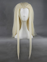 The Hobbit Thranduil King of the Elves Golden Long Straight Hair Cosplay Wig 78cm