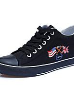 Scarpe Donna - Sneakers alla moda - Ufficio e lavoro / Casual - Creepers / Punta arrotondata - Piatto - Di corda - Nero