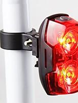 bicicleta de montaña advertencia láser circular llevó luces de cola