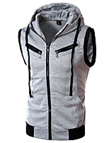 Men's Sleeveless Vest , Cotton Work Pure
