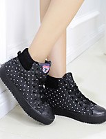 Women's Shoes Canvas / Denim / Fabric Platform Snow Boots / Creepers / Comfort / Round Closed Toe BootsOutdoor / Office