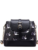 M Plus® Women's Fashion Casual PU Bucket Shoulder Bags - Black