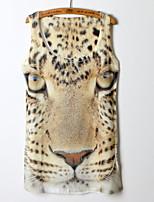 Women's Animal Animal Print Vest , Round Neck Sleeveless