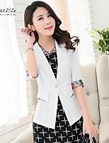 Women's Casual Thin ¾ Sleeve Regular Blazer