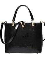 WEST BIKING® 2015 Korean Fashion V-shaped Metal Shoulder Bag Wild Crocodile Handbags Mobile Messenger