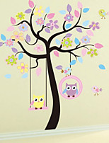 Removable Wholesale Bedroom Living Room TV Self-adhesive Wall Stickers