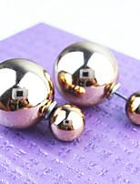 Women's Fashion Timeless Hotsale Shining Pearl Stud Earring ERZ0628