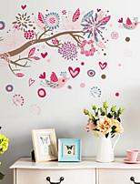 huis van kinderkamer / slaapkamer muur sticker verwijderbare diertje's
