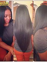 novos estilos de 100% do laço do cabelo humano peruca dianteira reta peruca cabelo brasileiro com o cabelo do bebê para as mulheres do