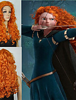 Cosplay Wig MERIDA BRAVE Movie Disguise 24