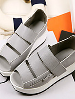 Women's Shoes  Low Heel Comfort Sandals Casual Black/White/Gray