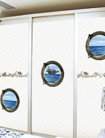 3D Wall Stickers Wall Decals Style Sea Surface Scenery PVC Wall Stickers