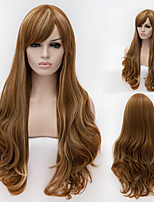 European And American High-Quality High-Temperature Wire Color Hair Wig Fashion Girl Necessary