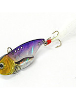 1pcs Fishing Bait Metal VIB Lures (Random Color)
