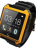 Lincass Uterra Waterproof Dustproof Shockproof Bluetooth 4.0 HD Touch Smart Watch Smartwatch for IOS&Android Phones