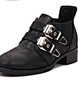 Women's Shoes  Chunky Heel Heels Boots Outdoor Black/Khaki