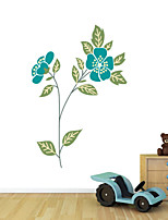 Wall Stickers Wall Decals Style Flower PVC Wall Stickers