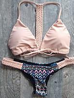 Women's 2015 New Sexy Halter Triangle Swimwear Bikini
