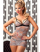 Women Lace Lingerie/Ultra Sexy Nightwear , Lace/Polyester