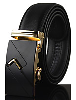 Men Vintage/Cute/Party/Work/Casual Alloy/Leather Calfskin Waist Belt