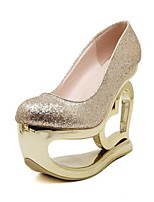 Women's Shoes Glitter Wedge Heel Platform Comfort Novelty Pumps Party More Colors available