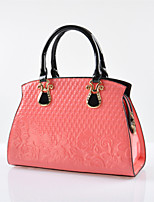 WEST BIKING® Europe And The Influx Of Stereotypes Embossed Patent Leather Bag Lady Handbag diagonal Package