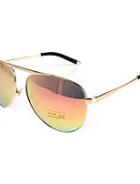 100% UV400 flyer Mirrored Retro Metal Sunglasses