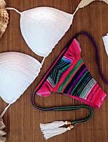 Women's 2015 New Sexy Fringe Triangle Swimwear Bikini