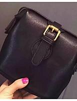 Women 's PU Sling Bag Shoulder Bag - Pink/Gray/Black
