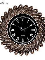 Horloge murale - Rond - Moderne/Contemporain/Rétro - en Polyrésine