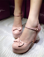 Women's Shoes Stiletto Heel Heels Pumps/Heels Party & Evening/Dress Pink/Ivory