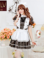 SKLV Women's Ice Cotton/Lace Maid Uniforms Ultra Sexy/Suits Nightwear/Lingerie