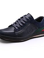 Scarpe da uomo Stringate Casual Di pelle Nero / Marrone / Blu scuro