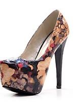 Women's Shoes Stiletto Heel Heels Pumps/Heels Casual Blue/Pink
