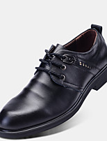 Men's Shoes Outdoor Leatherette Oxfords Black/Brown