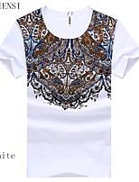 Katoen Heren - T-shirt - Informeel - Korte mouw