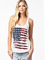 Women's Sexy Summer Beach Casual Print Vest Tank Top