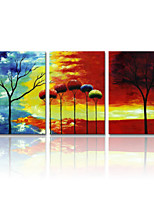 VISUAL STAR®Abstract Tree Oil Painting Landscape Stretched Canvas Printing Art