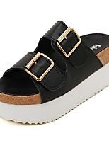 Women's Shoes Platform Platform Clogs & Mules Casual Black/White