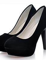 Women's Shoes Synthetic Stiletto Heel Heels Pumps/Heels Dress/Casual Black