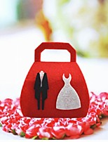 10 Piece/Set Favor Holder - Cubic Nonwoven Fabric Favor Boxes/Gift Boxes Non-personalised