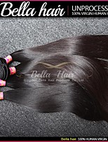 cabelo remy indiano weave cabelo retas 3pcs / lot virgens extensões de cabelo humano extensões de cabelo de trama dupla top
