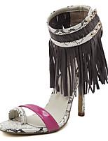 Chaussures Femme-Mariage / Bureau & Travail / Habillé / Décontracté / Sport / Soirée & Evénement-Bleu / Gris-Talon Aiguille-Talons / Bout