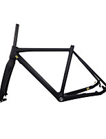 RB-NT211+FK-NT211 3K Glossy Neasty Logo Disc Brake Full Carbon Fiber Frame and Fork 1-1/8