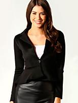 Women's Autumn Vogue Lapel Fishtail Long Sleeve Slim Blazer