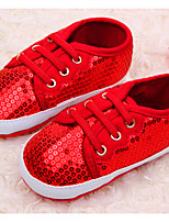 Baby Shoes Casual Fabric Fashion Sneakers Red