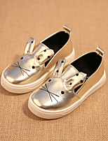Girls' Shoes Outdoor/Casual Round Toe/Closed Toe Glitter Fashion Sneakers Pink/Silver