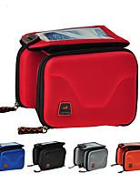 Rain-Proof/Multifunctional Bike Frame Bag Cycling <10 L Red/Gray/Black/Blue 600D Ripstop/EVA