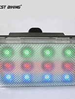 westen biking® LED3 patroon avond voor het rijden van de fietsverlichting brulkikker licht achterlicht fiets achterlicht waarschuwing