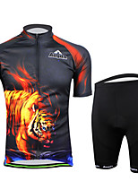 Cycling Bike Short Sleeve Clothing Set Bicycle Men Wear Suit Jersey + Shorts